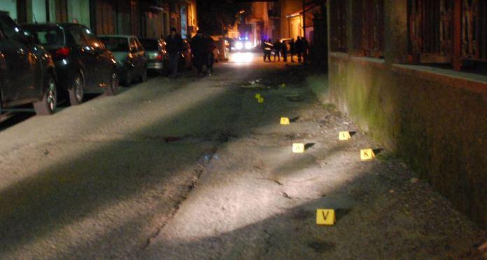 Il luogo dell'omicidio di Carmelo Muià, a Siderno