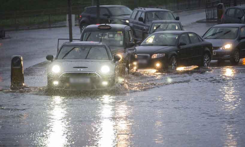 Allerto meteo: pioggia e venti anche a Gela