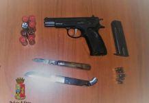 pistola clandestina cosenza