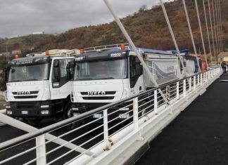 prova di carico ponte calatrava