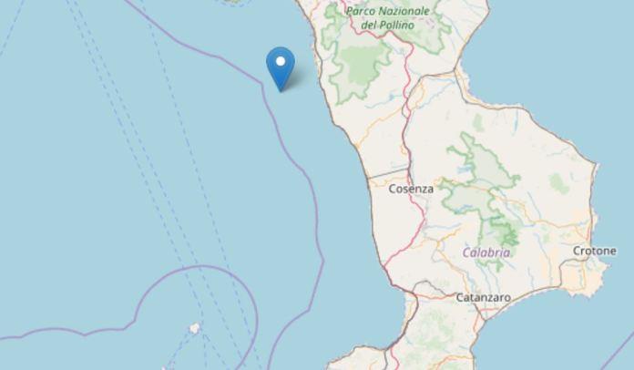 terremoto tirreno diamante