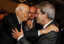 Giorgio Napolitano e Paolo Gentiloni
