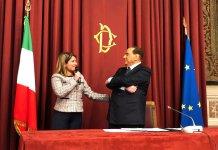 Maria Tripodi e Silvio Berlusconi