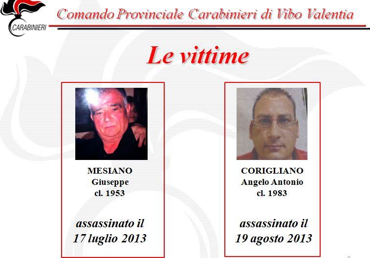 'Ndrangheta. Fatta luce su omicidi compiuti nel vibonese: 5 persone arrestate NOMI