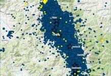 Sequenza sismica nell'Italia centrale, faglia del 2016
