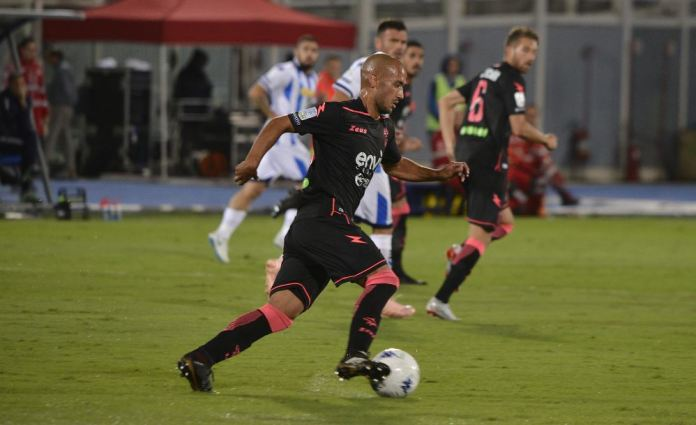 Benali, autore del gol in Pescara-Crotone