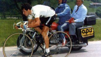 Il ciclista cosentino scomparso Pino Faraca