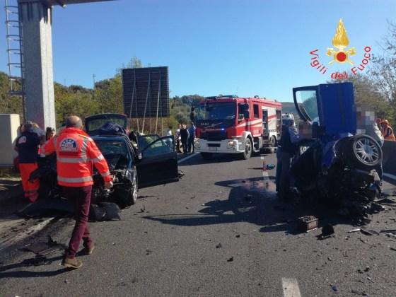 incidente stradale SS 280