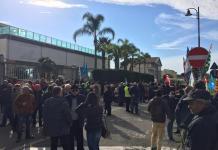 Manifestazione Lsu Lpu ad Amendolara