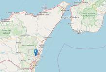 terremoto Catania etna