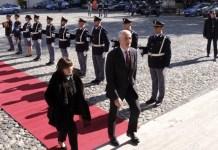 Il Capo della Polizia Franco Gabrielli e il Questore di Cosenza Petrocca