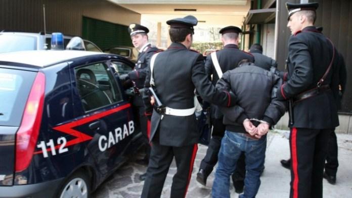 blitz arresti carabinieri