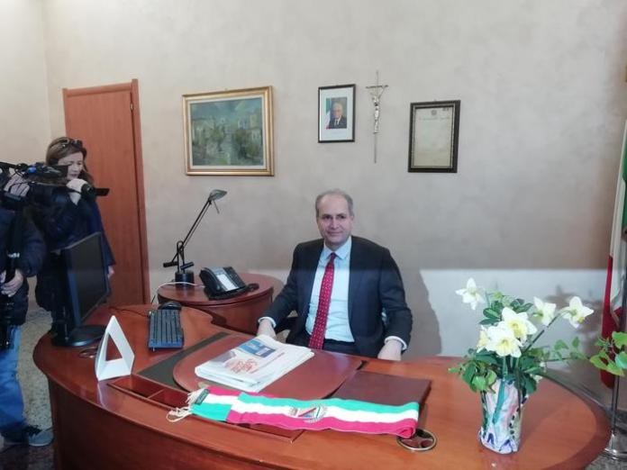 Il sindaco Paolo Mascaro