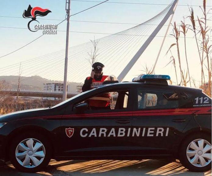 carabinieri cosenza ponte calatrava