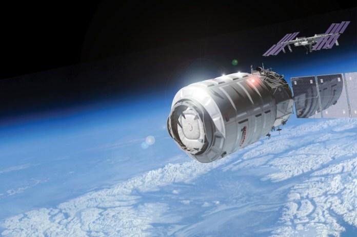 cargo Cygnus in volo verso la Stazione Spaziale