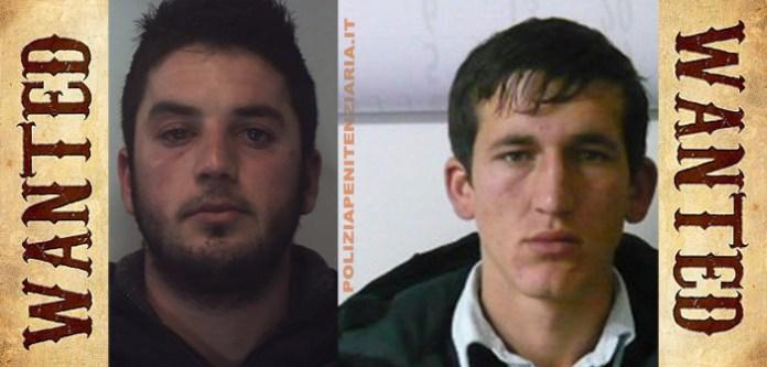 I due detenuti albanesi evasi dal carcere di Carinola