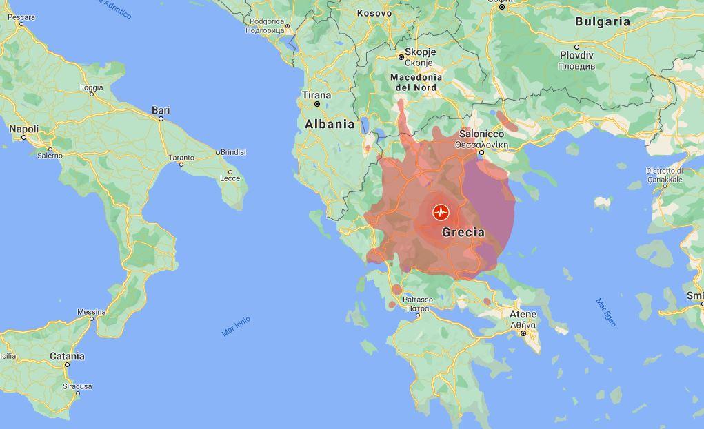 Forte scossa di terremoto in Grecia: magnitudo 6.3
