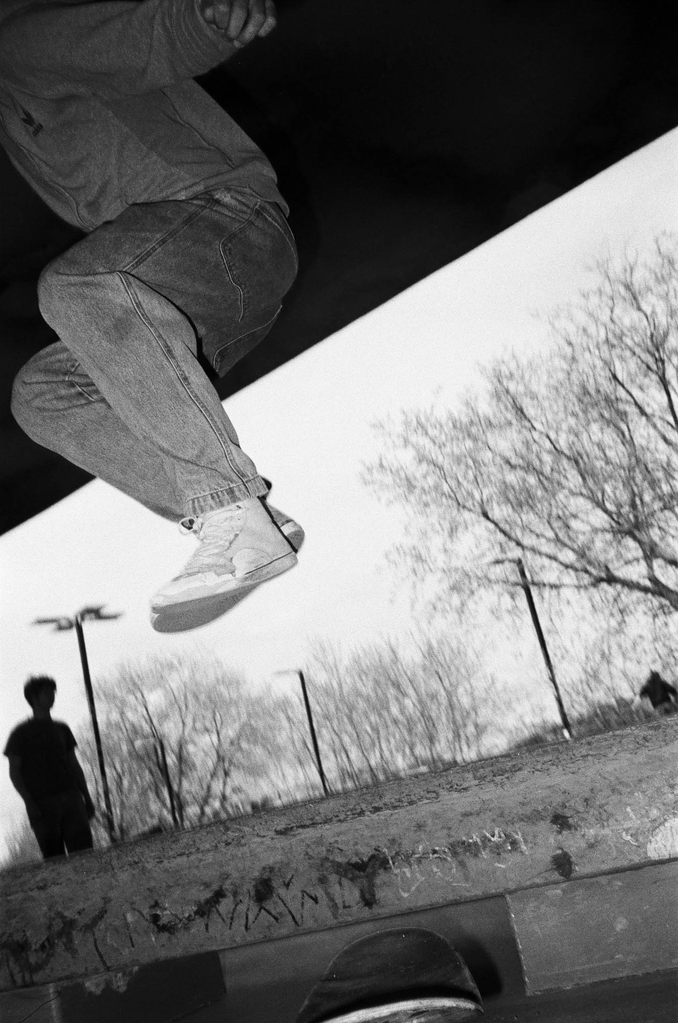 MONTREAL - SKATE SESSION - FILM PHOTOGRAPHY - QUENTIN ANDRUP