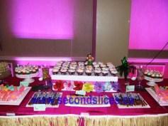 dessert tables cupcakes in Edmonton