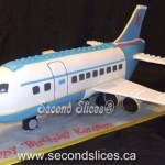 lego airplane plane aircraft birthday boys cakes cupcakes from Second Slices® cake shop bakery in Edmonton