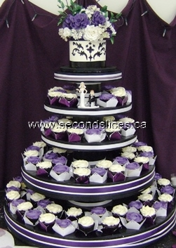 wedding cupcakes in Camrose