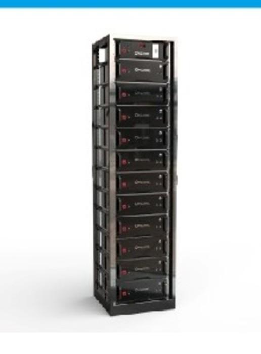 soltaro rack batterie 57kwh