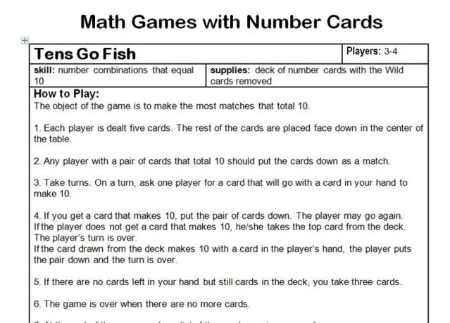 Fantastic Year Five Maths Games Contemporary - Printable Math ...