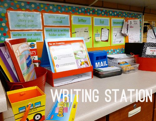 Daily 5 Work on Writing Station