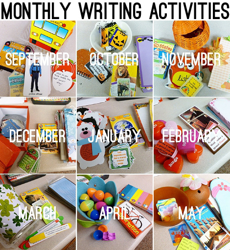 Daily 5 Work On Writing Monthly Resources Second Story Window