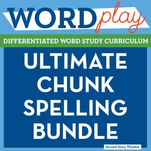 Chunk spelling second story window consider saving yourself a ton of time with our ultimate chunk spelling bundle where we have done all the work for you sciox Gallery