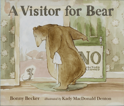 Jargon Journal interactive notebook visitor for bear