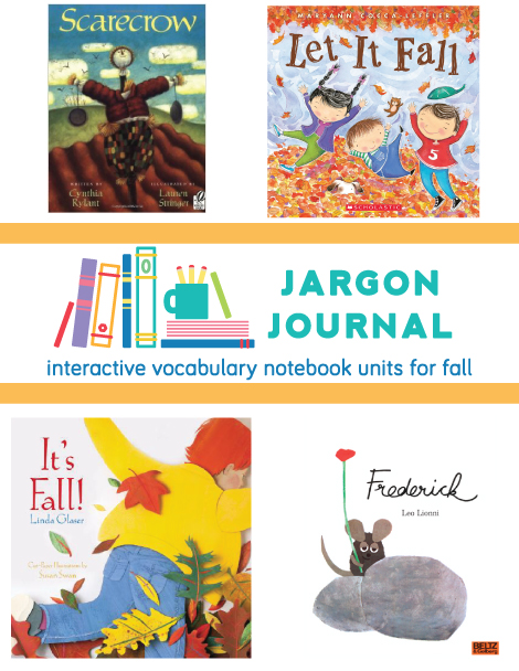 Interactive Vocabulary Notebooks for Fall