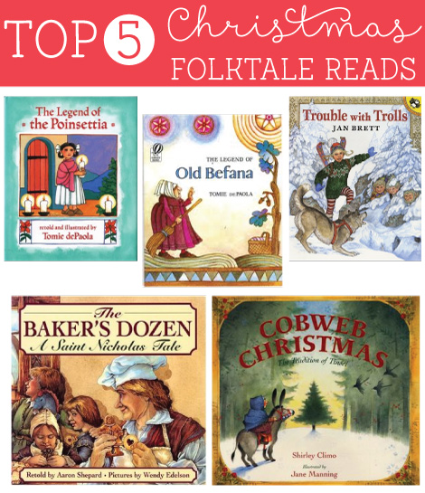 93 Best Images About Christmas Story On Pinterest: Top 5 Christmas Folktale Reads