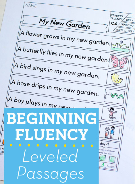 photo regarding Read Naturally Printable Stories called Setting up Fluency: Leveled Internet pages