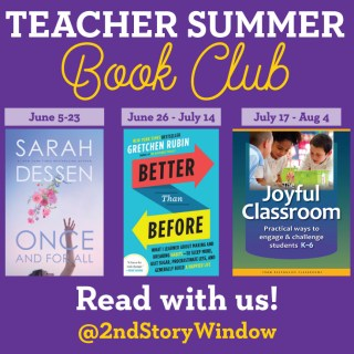 Teacher Summer Book Club 2017