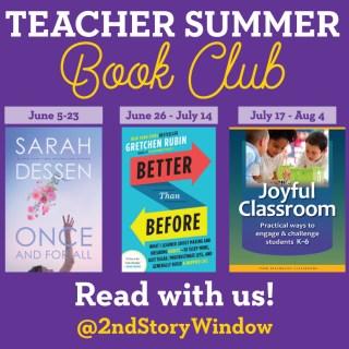 Teacher Summer Book Club 2017
