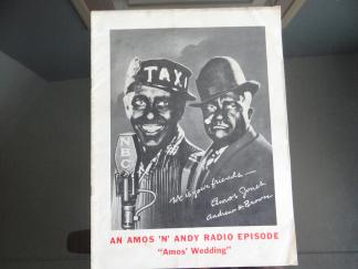 "1935 Dec 25th Amos 'n' Andy Radio Show Christmas Episode Script ""Amos Wedding"""