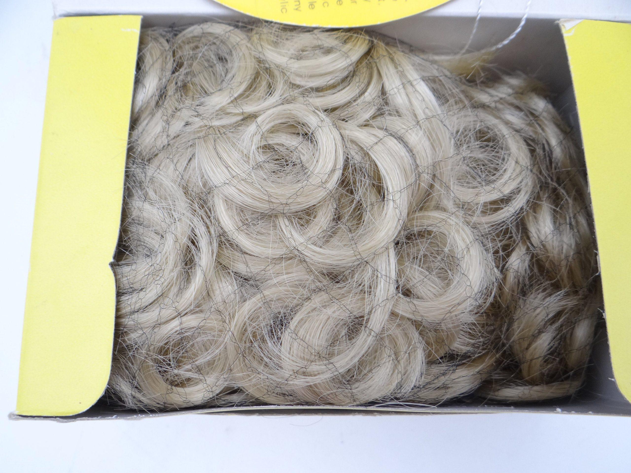 """Kemper Originals Heather Baby Doll Wig Size 10-11/"""" Pale Blonde"""