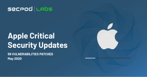 Apple Critical Security Updates May 2020