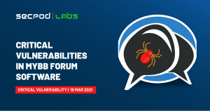 Read more about the article Critical Remote Code Execution Vulnerabilities in MyBB Forum Software