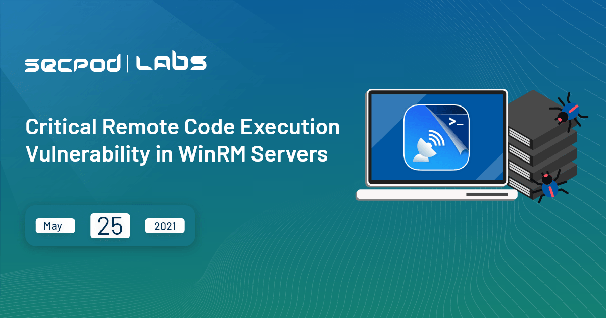 You are currently viewing WinRM servers are the latest preys for the Wormable Windows HTTP vulnerability