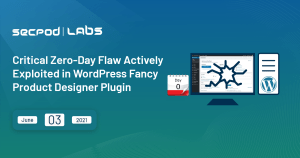 Read more about the article Critical Zero-Day Flaw Actively Exploited in WordPress Fancy Product Designer Plugin
