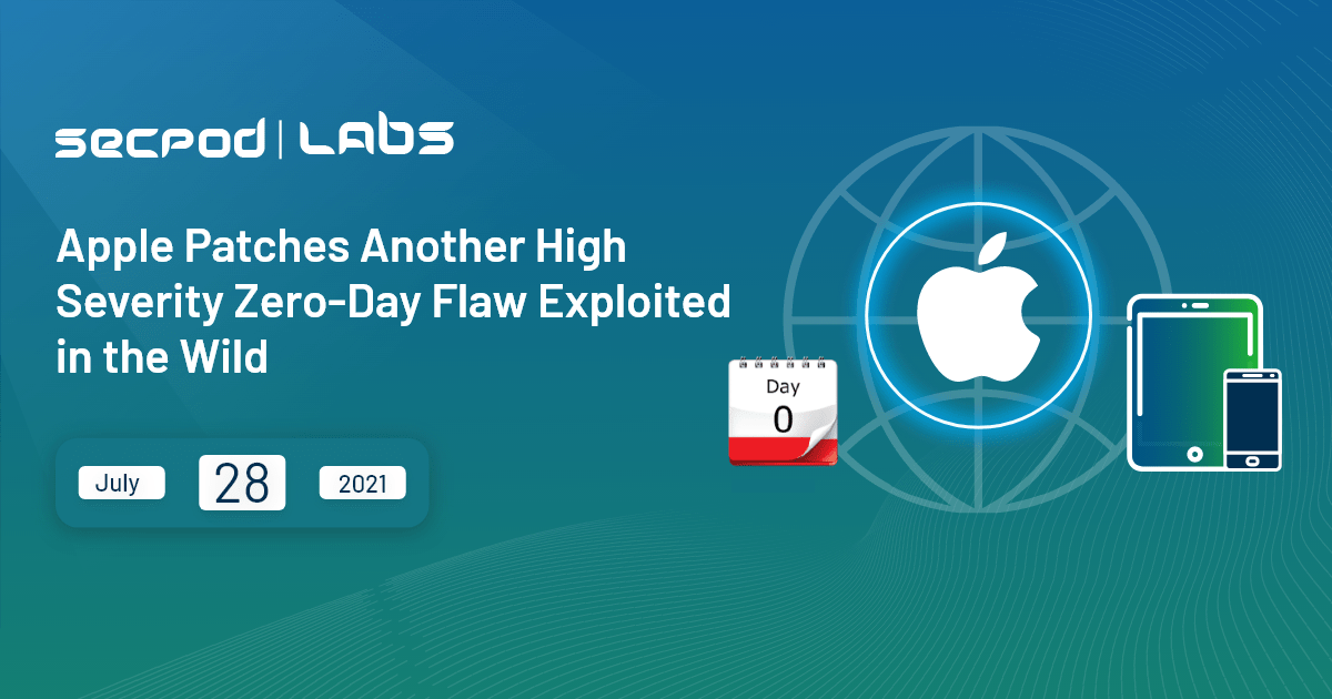 You are currently viewing Apple Patches Another High Severity Zero-Day Flaw Exploited in the Wild