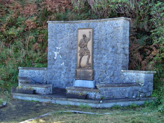 Memorial at Rineen