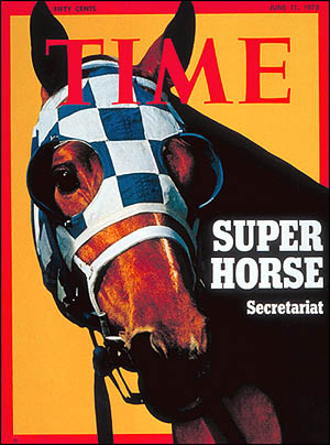 On the cover of Time magazine... Super Horse