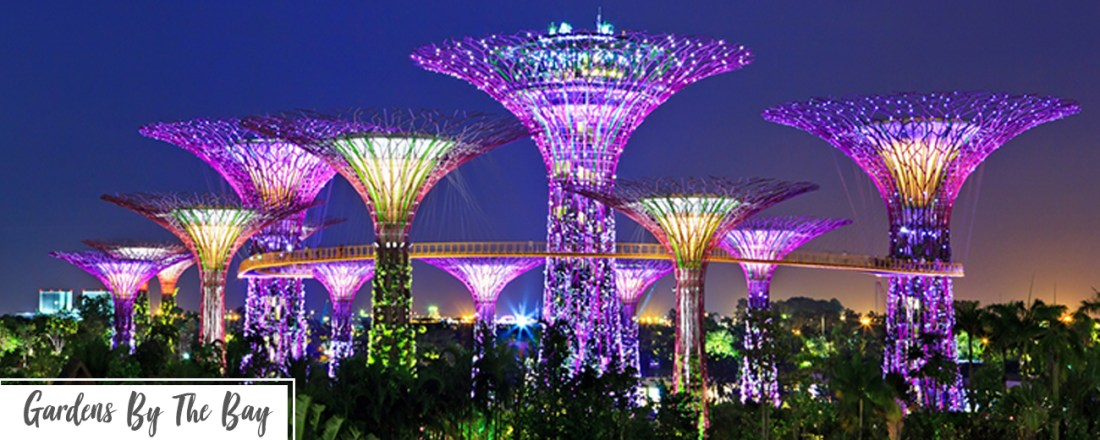 Singapore day one itinerary - Gardens by the bay