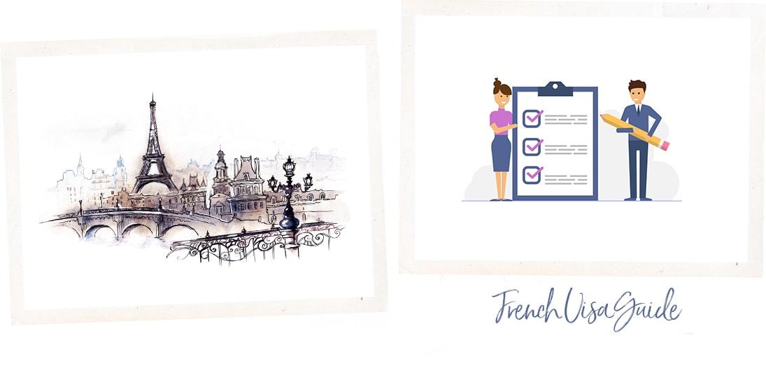 France visa checklist, Eiffel tower Paris