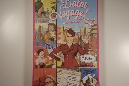 The Balm, Balm Voyage!