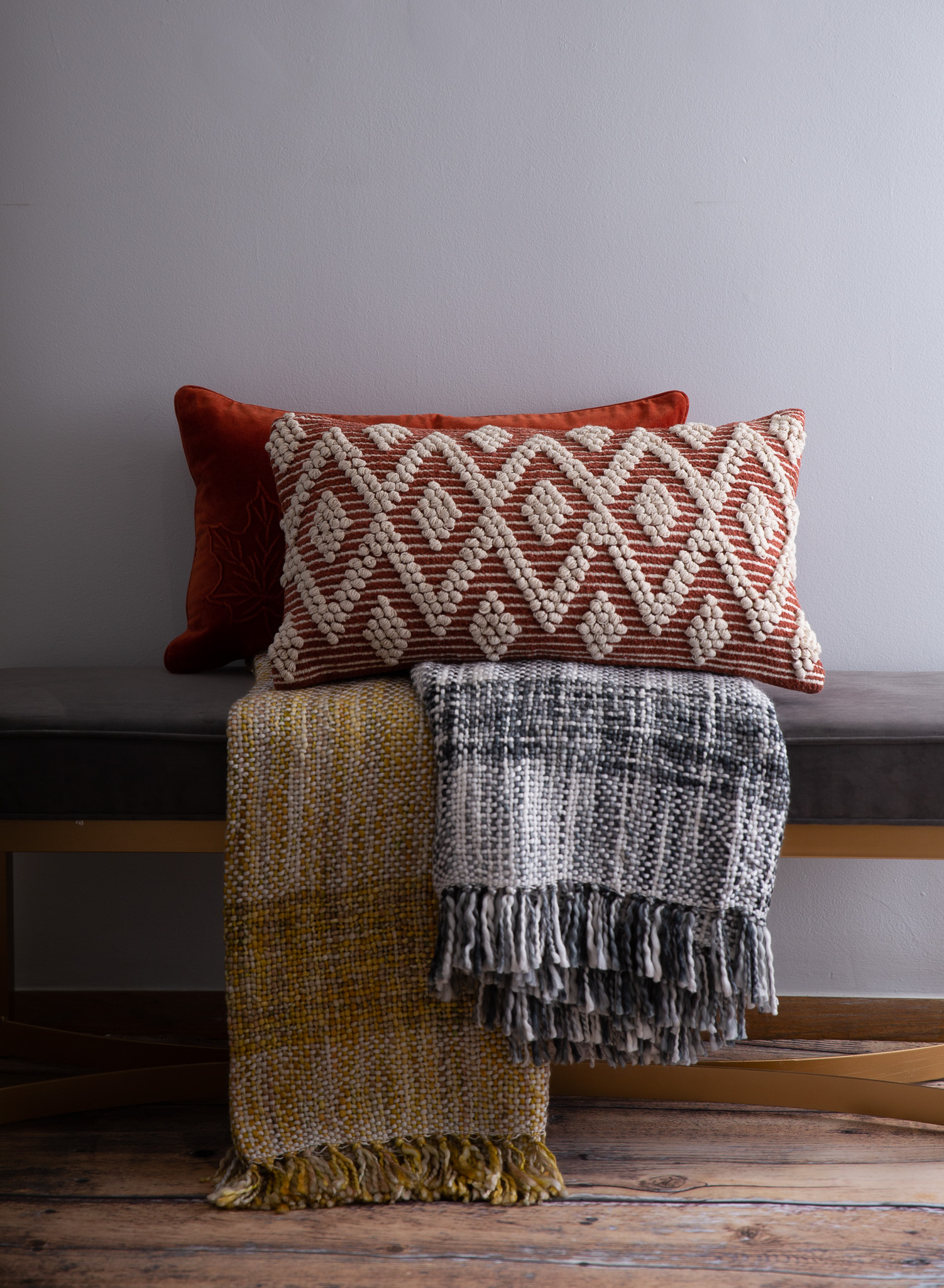 fall throws and pillows