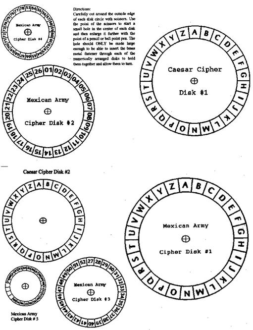 decoder wheel printable